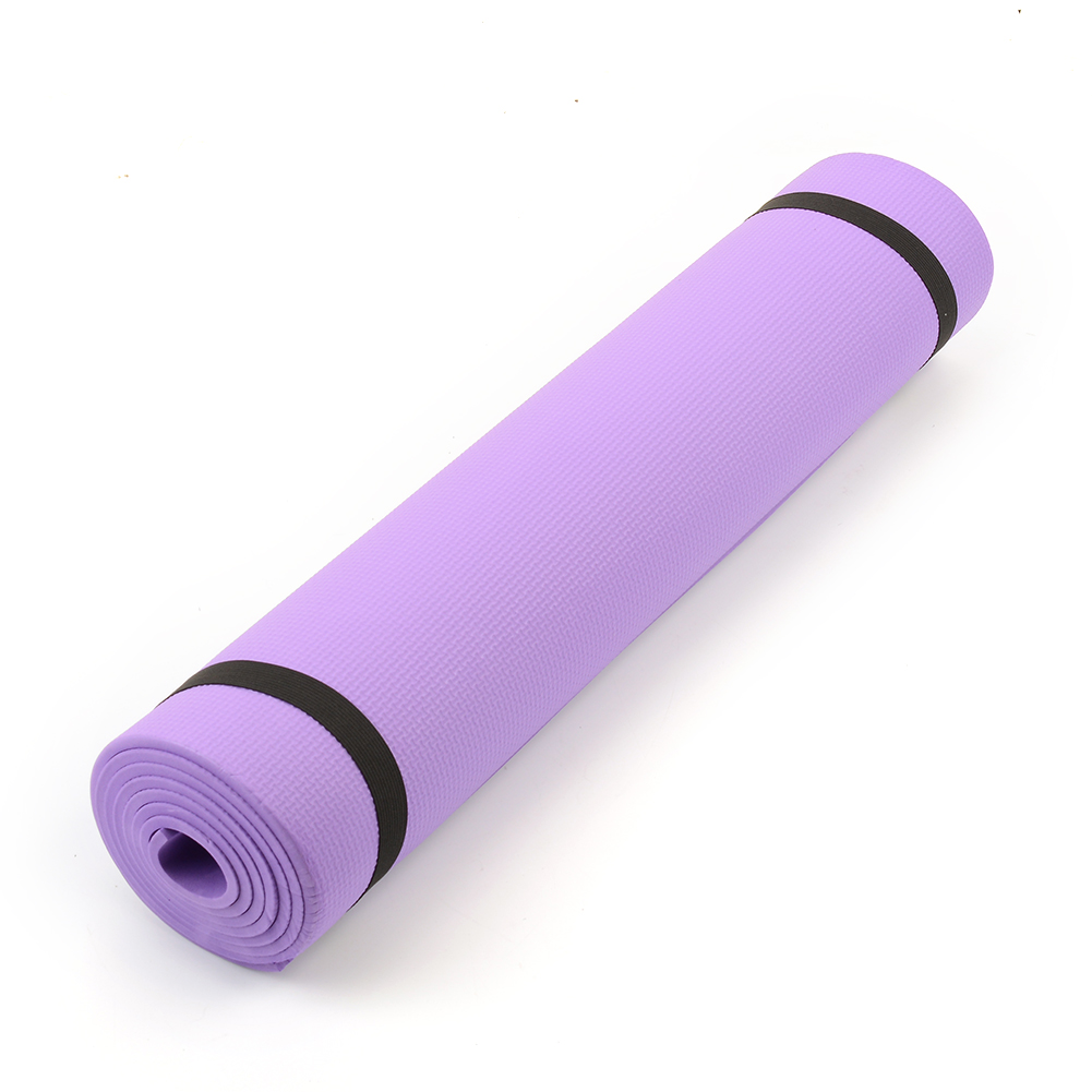 68 x24 x0 24 6mm Thick Yoga Mat Pad Non Slip Lose Weight Exercise Fitness Indoor