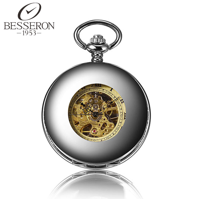 Steampunk Mechanical Watches Luxury Pocket Watch Vintage Clock Pendant Silver Pendant Watch Chain Orologio Da Tasca Antique(China (Mainland))