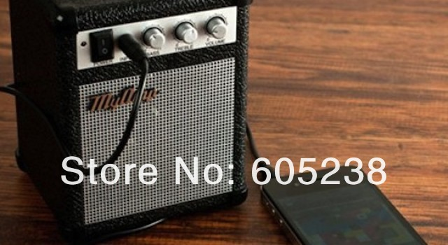 wholesale 12 pieces / lot Paladone My Amp Retro Speaker for MP3 / phone / Computer(China (Mainland))