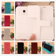 Qumo Quest 504 Case Mobile Phone Cases Fashion PU Leather Silicon Soft Back - Shenzhen XL Whosale'Store store