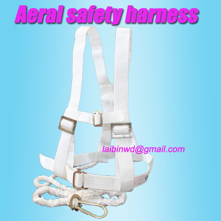 Outdoor Survival climbing belt camping aerial safety harness load capacity 4412N, for aerial workingman(China (Mainland))