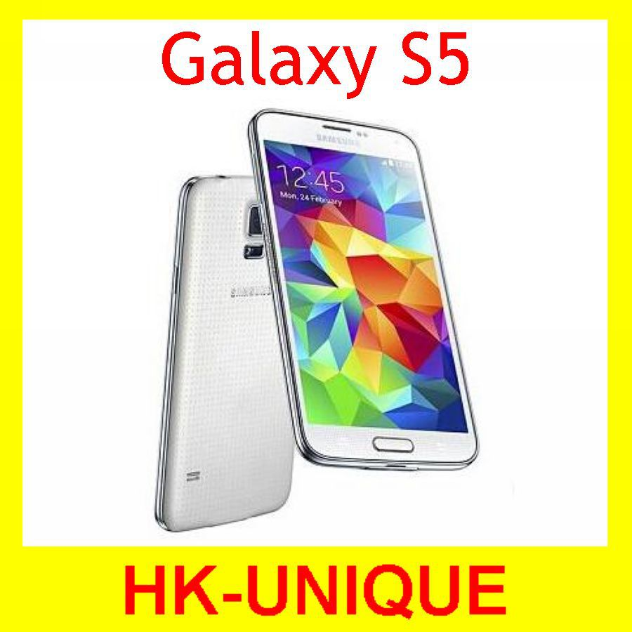 Unlocked Samsung Galaxy S5 I9600 16MP camera quad core 5.1 inch touch screen Original cell phones free shipping in stock(China (Mainland))