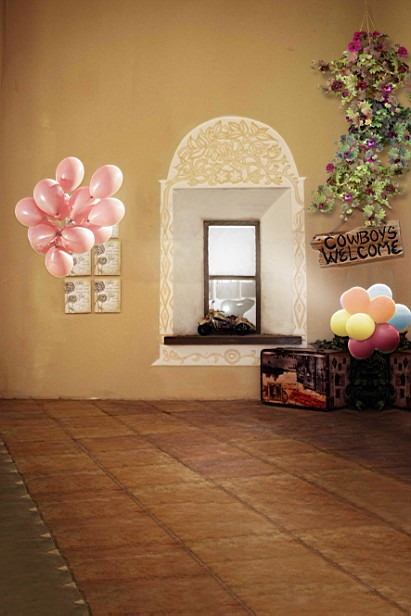 New arrival Background fundo Balloon window model 600CM*300CM width backgrounds LK 2814<br><br>Aliexpress