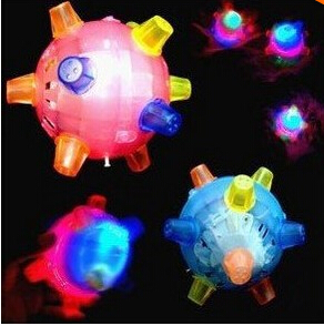 Bumble Dancing Singing Bouncing Ball Toy for Kids for Christmas Gift Colorful Electric Toys for children free shipping(China (Mainland))