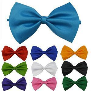 10 Colors Cute Handsome Adjustable Men Bow Ties Necktie Bowtie Male butterfly tie Men's clothing bowtie Free Shipping