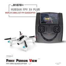 Hubsan FPV X4 Plus H107D+ RC White 720P Camera 2.4G 4CH RC Quadcopter RTF Headless Mode Profession Drone Toys