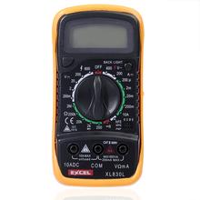 Xl830l LCD Digital voltímetro del amperímetro del ohmímetro del probador del multímetro