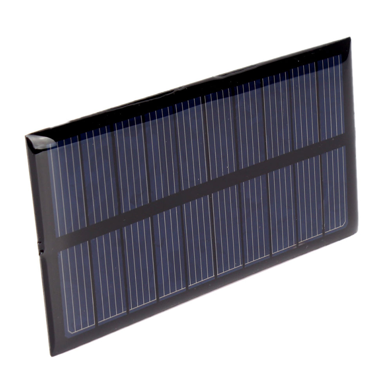 Hot Sale DIY 5V 1W 200mA Solar Panel Module Solar System Cells Charger #69411(China (Mainland))