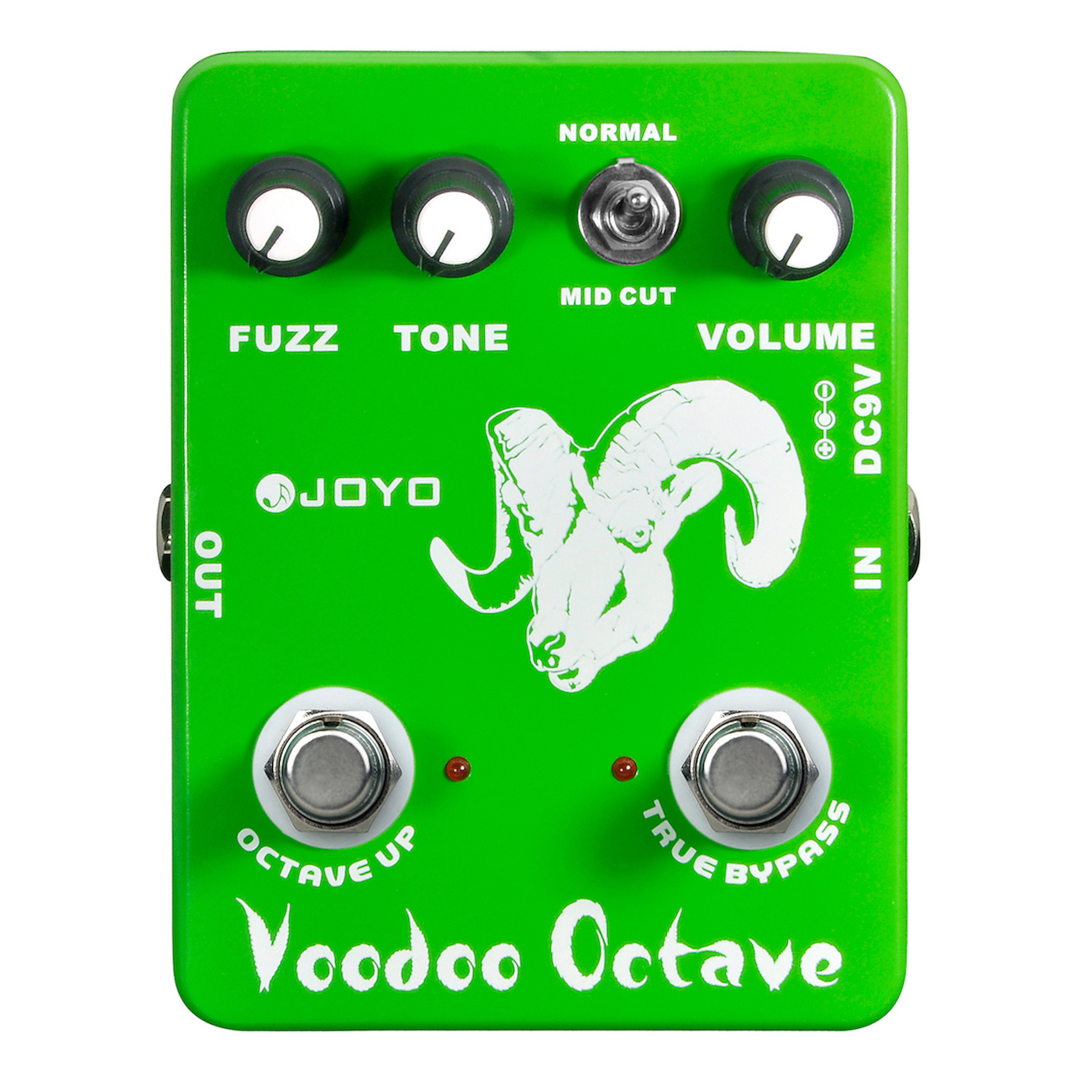 JOYO JF-12 Voodoo Octave Electric Guitar Effect Pedal True Bypass JF 12