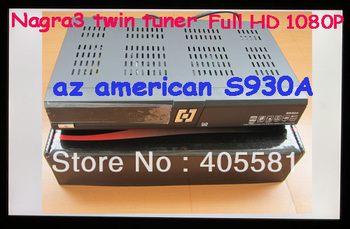 Az america s930a satellite receiver, South America decoders with N3 and twin tuners,with Free Account  sks  inside