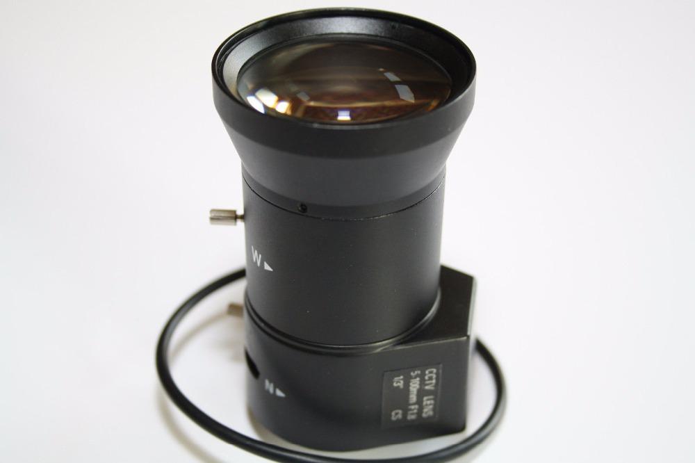 5-100mm Varifocal DC Auto Iris Zoom Lens for CCTV Security Cameras(China (Mainland))