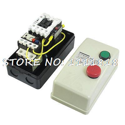 On Off Switch Enclosed Three Phase Motor Magnetic Starter 380V Coil 12.5-18A<br><br>Aliexpress
