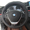 Steering Wheel Cover Case for BMW 320i M135i 2013 335i 328i Genuine Leather DIY Hand stitched