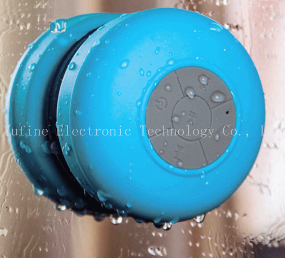 Yufine company supply outdoor waterproof Bluetooth speaker, can play music in bathroom, have bass sound, popular in the world(China (Mainland))