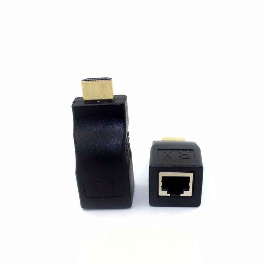 10pcs/lot New Arrival HDMI 2.0 TO RI45 Extender Repeater 30M Single CAT5E CAT6 No need Power Supply Support 4K*2K Free shipping(China (Mainland))