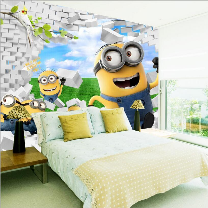 Compare Prices On Minion Wallpaper Online Shopping Buy Low Price Minion Wallpaper At Factory