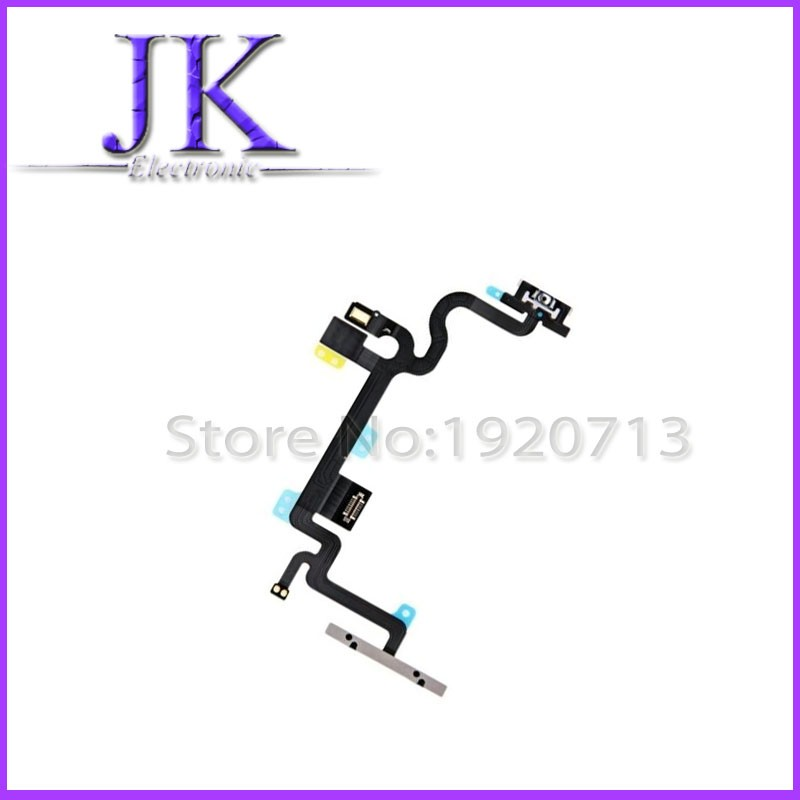 1 pcs Power on / off & Volume Button Connectors With Flex Cable Ribbon for iphone 7 plus i7p 5.5 inch Replacement Parts