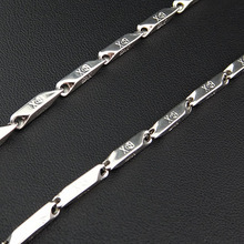 Party Jewlery 316L Stainless Steel Women Mens Costume Silver Skull Skeleton Necklace Chain Fashion Jewelry A827