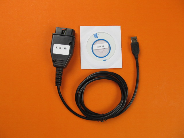 for FIAT KM TOOL Odometer Mileage Correction Programmer for FIAT KM TOOL Program OBD2 interface(China (Mainland))