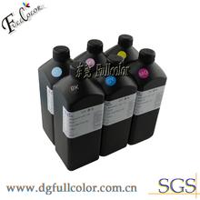 Free shipping LED UV ink for epson stylus pro 4400 flatbed printer 4color/set