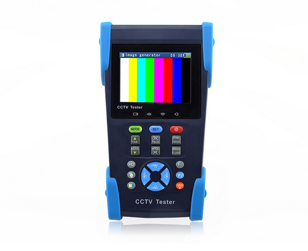 "HD2800T 3.5"" TVI camera tester HD Coaxial Tester monitor HD TVI 1080P analog camera tester PTZ control 12V ouput IP scan(China (Mainland))"