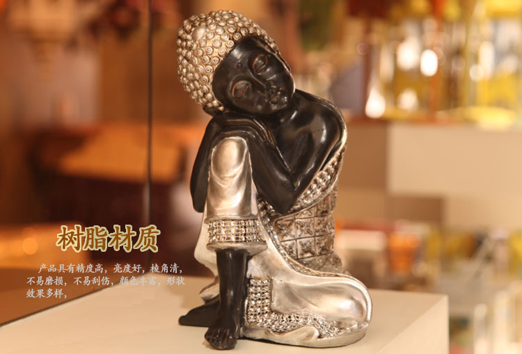 Household act the role ofing is tasted. Desktop resin decorations. Restoring ancient ways of Buddha furnishing articles.(China (Mainland))