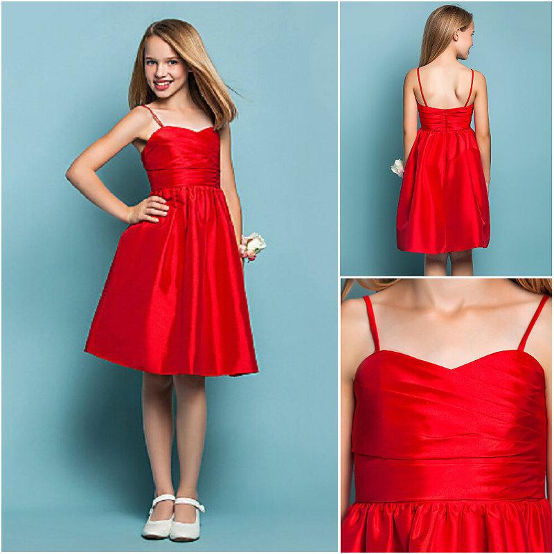 Short Red Dresses For Juniors Photo Album - Reikian