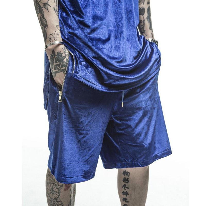 Summer shorts men 2015 fashion stars style hip hop jogger shorts for men top quality Free Shipping(China (Mainland))