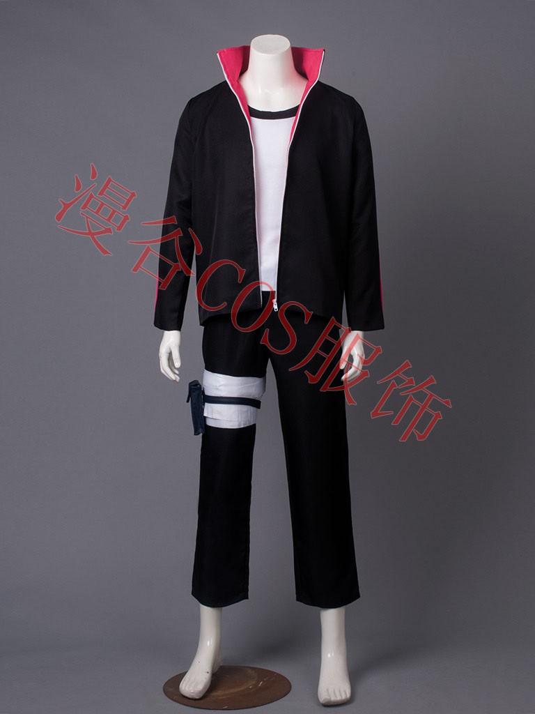 NARUTO Boruto Uzumaki Cosplay Costume Halloween Uniform Coat+T-shirt+Pants+Bags+Shoes+Headband+Weapons  HTB1QeHtJVXXXXXJXXXXq6xXFXXXh