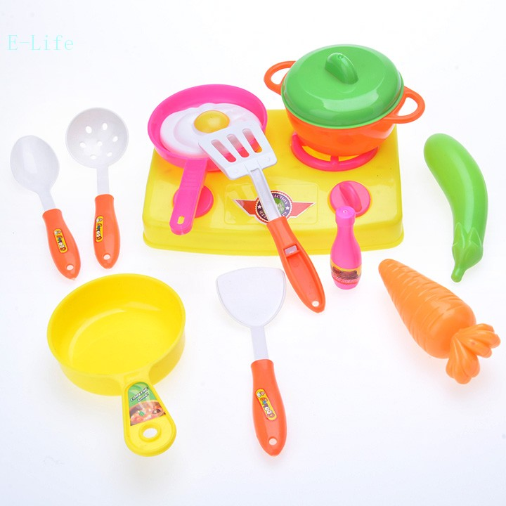 13pcs/Set Child Kitchen Toys Set Classic Toys Pretend Play Simulation Role Playing Toys Baby Kids Educational Toys 50(China (Mainland))