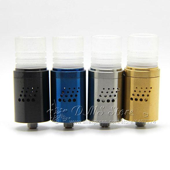 Mutation X V5 RDA Atomizer E Cig Dual Coils Rebuildable Wide Drip Tip 12 holes Clone VS V V2 V3 V4