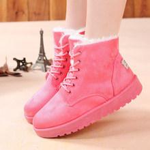 De la mujer Botas Botas femeninas 2015 recién llegado de las mujeres Botas de invierno cálido nieve botines plataforma de moda para para zapatos(China (Mainland))