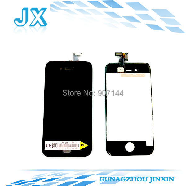 50pcs/lot OEM LCD Digitizer Glass TOUCH Screen Assembly For iphone 4s 4gs(China (Mainland))