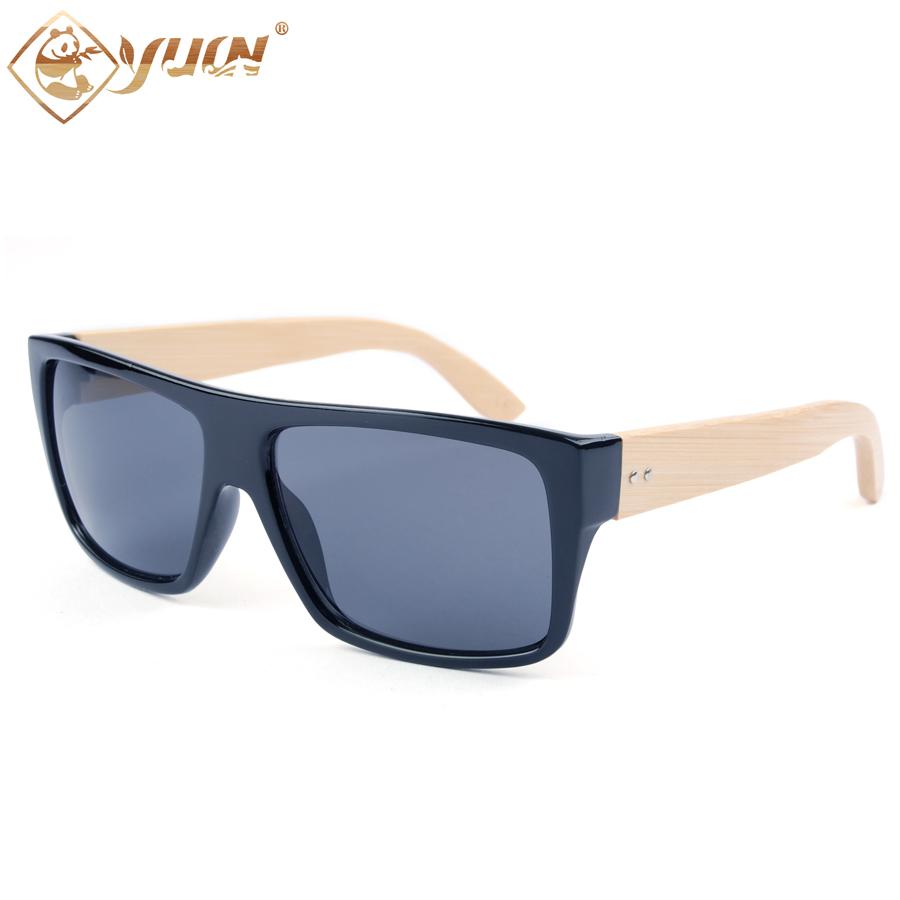 Natural so real sunglasses good quality handmade bamboo arms fashion summer sun glasses for men oculos de sol feminino 1033B(China (Mainland))