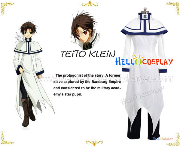 07 Ghost Teito Klein Cosplay Costume H008Одежда и ак�е��уары<br><br><br>Aliexpress