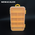 Double Tool Box Electronic Plastic Parts Toolbox Casket SMD SMT Screw Component Storage Box
