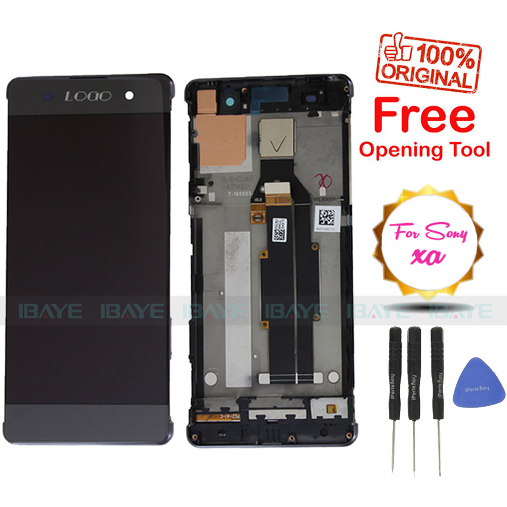 "6.0"" Screen For Sony Xperia XA Ultra C6 LCD Display Digitiser Glass Touch Screen Digitizer Assembly Replacement , Free shipping(China (Mainland))"