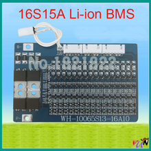 16S 15A li-ion 67.2V BMS PCM battery protection board bms pcm for electric bike battery cell pack(China (Mainland))