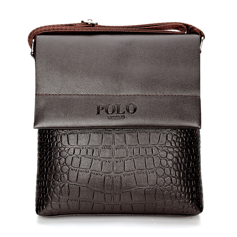 2015 Hot Sell!!! 9000 PCS High Quality PU leather messenger bag fashion men's shoulder bag casual briefcase Business(China (Mainland))
