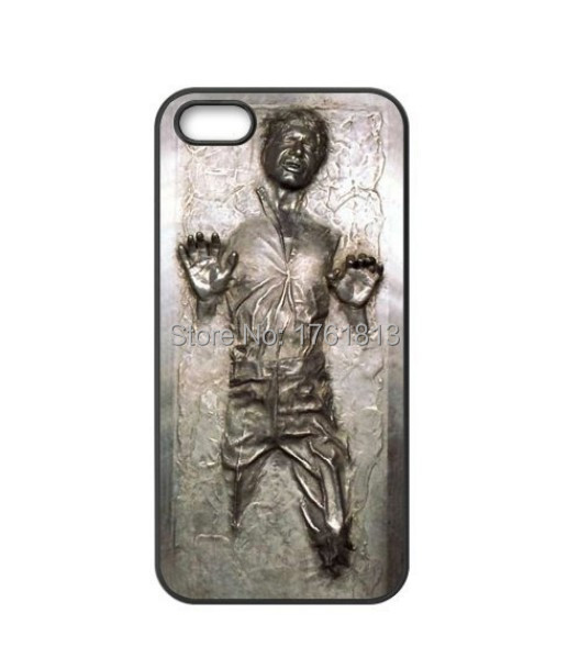 Han Solo Carbonite Wars Cell Phone case for iPhone 4 4s 5 5s 5c 6 6plus Samsung galaxy A3 A5 A7 S3 S4 S5 Mini S6 Edeg Note 2 3 4(China (Mainland))