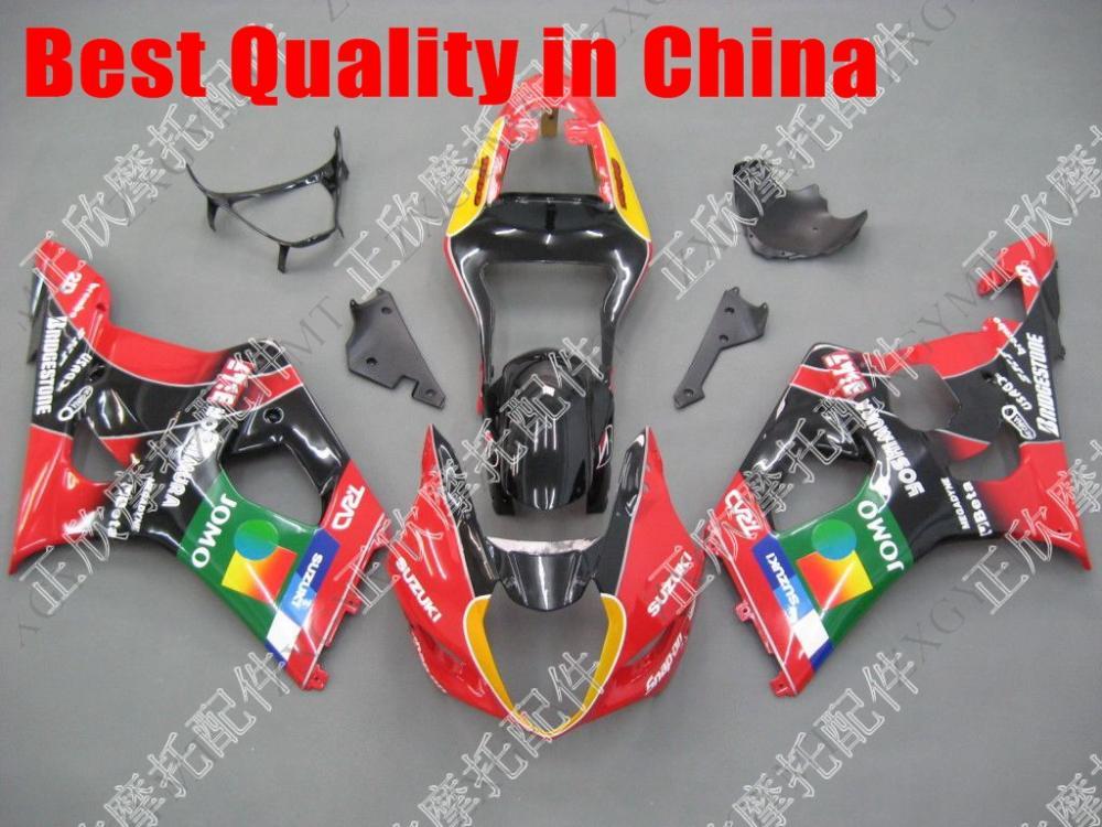 GSX R1000 Fairing 2003 GSXR1000 Fairings 2004 GSXR1000 Abs Fairing 03 04 K3 ZXGYMT(China (Mainland))