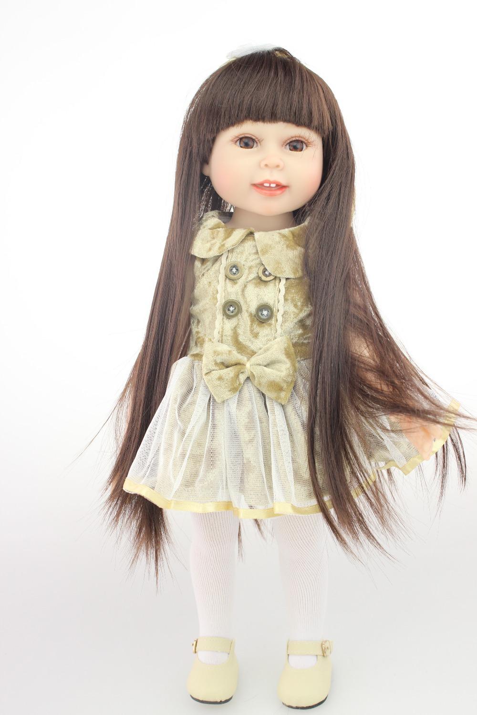 """18 """" vinilo de silicona muñecas Reborn muy suave muñeca de la muchacha nuevo modelo antiguo de la muchacha dollfashionable del regalo del bebé nuevo diseño(China (Mainland))"""