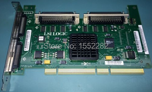 LSI22320-S PCI-X Dual Ultra320 SCSI Adapter Card 375-3365-01 Original 95%New Well Tested Working One Year Warranty