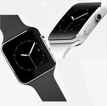 2016 New X6 Smart Watch Phone Bluetooth Wrist Smartwatch With Camera Support SIM & TF Card For Apple iPhone Android Smartphones