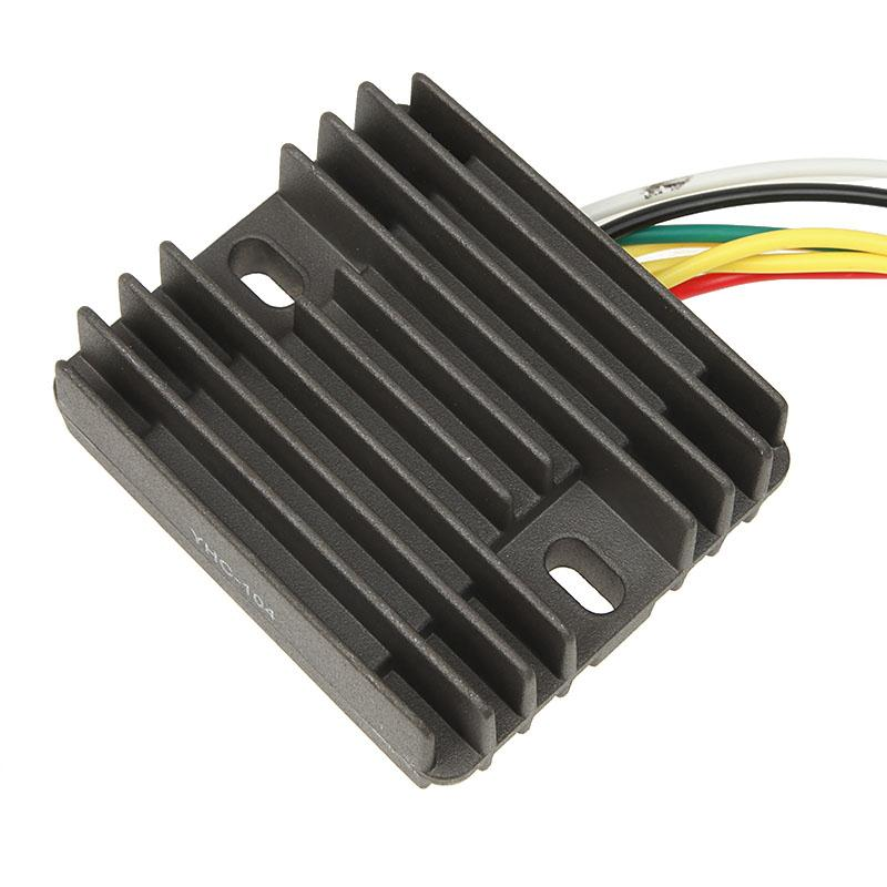 Black Motorcycle Voltage Regulator Rectifier Replacement Solid-state For Honda CB 500cc F CB 400cc F CB 550cc F/K3 CB 750cc(China (Mainland))
