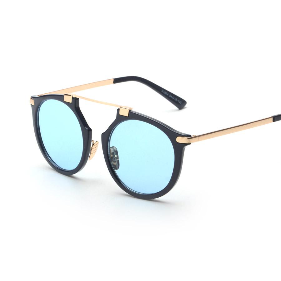 2016 new retro unique shape cay eye frame sunglasses cosy