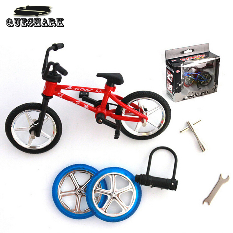 Extreme Sports Alloy Mini Finger Bike BMX Professional Diy Tools Suit Kids Finger Bicycle Toys Suit Child Novelty Christmas Gift(China (Mainland))