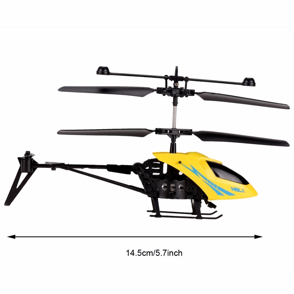 MJ 901 Mini Dron Arshiner Yellow Gyro Drone Mini 2.5CH Remote Control RC Helicopter Aircraft LED RC Helicopter Kids Toy Gifts(China (Mainland))