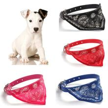 Dogs Clothes And Accessories Adjustable Pet Dog Cat Puppies Collars Scarf Neckerchief Necklace #2031(China (Mainland))