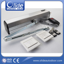 Power swing door closer for single or double leaf door,single or double leaf swing door closer automatic(China (Mainland))